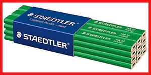 STAEDTLER 148 50 Hard Carpenters Pencil, 6H, Pack of 12