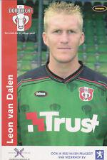 AUTOGRAMMKARTE / AUTOGRAPHCARD Leon van Dalen FC Dordrecht 2003/2004