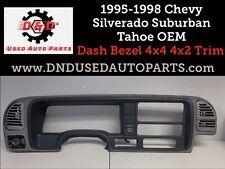 1995-98 Silverado Sierra etc Dash Bezel w/ Vents & Headlight Switch Oem