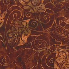 MODA Over the Rainbow Honey Brown Laundry Basket Batik Fabric BTY 41014-29