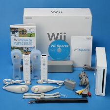 Nintendo Wii Sports Konsole Komplettset für 2 Spieler  TOP ZUSTAND