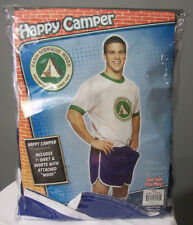 happy camper funny camp morning wood adult humorous costume one size cosplay