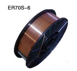 """MIG Welding Wire ER70S-6 Mild Steel Mig 11 Ib .035"""" 1 Roll"""