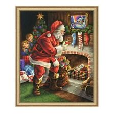 Full 5D Drill Diamond Painting Christmas Santa Claus Kits Art Decoration Home