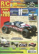 RC POWER MODELISME N°209 MRC RCS5 EP RC SYSTEM / LOSI TLR22 / T2M PIRATE XL EP