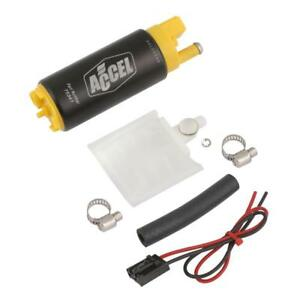 Accel Electric Fuel Pump 75341; Thruster 500 lbs/hr for Nissan, Toyota 4cyl/6cyl