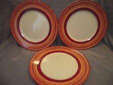 Set of 3 Pier 1 Elizabeth Dinner Plates