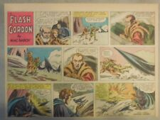 Flash Gordon Sunday Page by Mac Raboy from 10/23/1955 Half Page Size