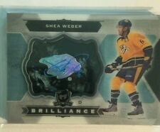 2014-15 The Cup  Shea Weber Auto Brilliance Upper Deck 14/15