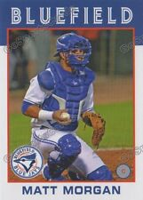 2016 Bluefield Blue Jays Matt Morgan RC Rookie Toronto