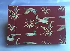 Fotoalbum mit Buchschrauben - Format: 20 x 13,5 cm - Motiv Enten rot
