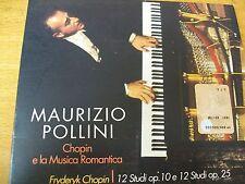 MAURIZIO POLLINI CHOPIN E LA MUSICA ROMANTICA CD DIGIPACK