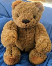 """1983 Gund Collectors Classic Limited Edition Brown Jointed Teddy Bear 12"""""""