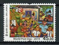 Sri Lanka Postal Services Stamps 2019 MNH World Post Day 1v Set