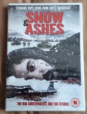 Snow and Ashes DVD (2011) Rhys Coiro New And Sealed