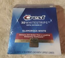 Crest 3D Whitestrips Glamorous White 28 Strips / 14 Treatments Ex. 06/2022