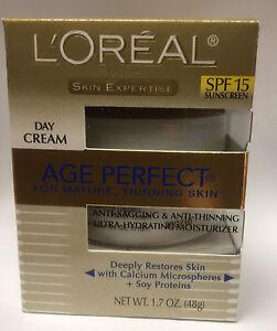 L'Oreal Peau Expertise Âge Parfait Pour Mature Jour Crème SPF 15 Neuf en Boîte