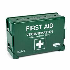 FLEXEO Verbandkasten DIN 13157   grün   Wandhalterung   Erste Hilfe Koffer