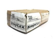 Simplex R104 Single Acting Spring Return Hydraulic Cylinder 10 Ton 419 Stroke