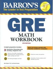 Barron's GRE Math Workbook, 4th Edition by Blair Madore and David Freeling...