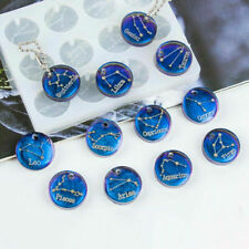 12 Constellations Discs Pendant Silicone Resin Mold DIY Jewelry Making Craft