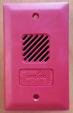AMSECO POTTER HP-25TR 24VDC Mini Horn Red Temporal Remote Signaling Device