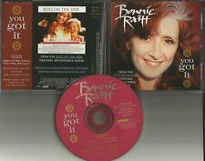 BONNIE RAITT You Got It USA PROMO Radio DJ CD Single MINT TRAVELING WILBURYS Trk