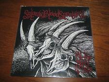 "SATANIC BLOODSPRAYING ""At the Mercy of Satan"" LP impaled nazarene sarcofago"