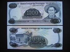 Nicaragua 500000 córdobas 1987 (p150) UNC