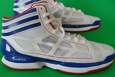 PLAYERS EDITION~Adidas ADIZERO CRAZY LIGHT ILLWILL Basketball Shoe rose~Men 14.5