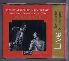 WERNER EGK 2 CDs  NEW DIE VERLOBUNG IN SAN DOMINGO