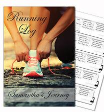 PERSONALISED RUNNING DIARY/RUNNING LOG BOOK, RUN RECORD/JOURNAL/ PERSONAL GIFT 2