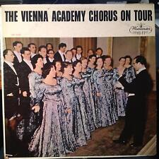 The Vienna Academy Chorus - On Tour LP VG+ WP 6088 Westminster Mono 1959 1st