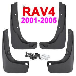 4pcs For Toyota RAV4 XA20 2001-2005 Mudguards Mud Flaps Splash Guards Fender