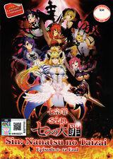Sin: Nanatsu no Taizai [Seven Mortal Sins] Complete 1-12 - English Audio - UNCUT