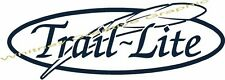 """Trail Lite"" RV decal Hollow Feather Version Graphic Made Fresh Not Old Stock"