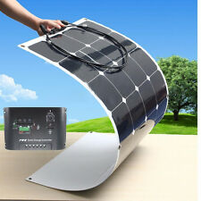 18V 100W Semi Flexible Ultrathin Mono Solar Panel Charger + 10A Controller