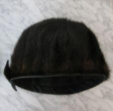 BONWIT TELLER: Vintage 60's Mink Fur Beret / Hat