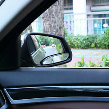 2× Car 360° Wide Angle Convex Blind Spot Mirror Stick On Rear View Accessories