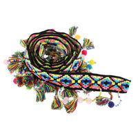 1 Yard DIY Beaded Pom Pom Bobble Trim Ball Tassel Braid Fringe Ribbon Crafts