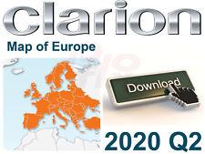 CLARION NX502E microSD Speicherkarte 8GB mit GPS Karten Update 2020 Europe