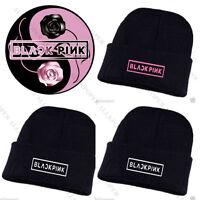 Christmas Gift KPOP BLACKPINK Beanie Hat Unisex JISOO Knit Cap SKI Winter JENNIE