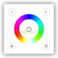 AC100-240V DX3 2.4G RF DMX512 Touch Panel LED RGB Strip Dim Sync Control Switch