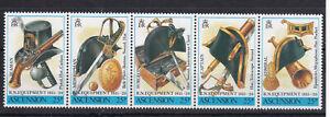 ASCENSION ISLAND MNH STAMP SET 1990 ROYAL NAVY EQUIPMENT SG 512-516
