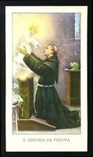 santino-holy card EGIM n.40 S.ANTONIO DA PADOVA