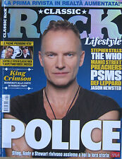 CLASSIC ROCK 11 2013 Police King Crimson Manic Street Preachers Def Leppard Who