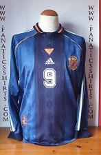 Nº9 Seleccion España 1998 Away Camiseta Futbol Adidas Shirt Trikot Maglia