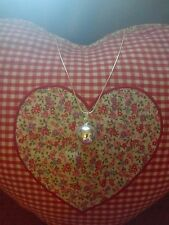 """Harmony ball Angel Bola Chime Ball 2cm Pendant Necklace 925 Silver Chain 30"""""""