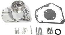 HARDDRIVE CAM COVER W/HARDWARE & GASKET CHROME PLATED 68-184