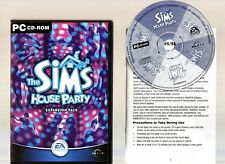 THE SIMS HOUSE PARTY. GREAT EXPANSION FOR THE SIMS ON THE PC!!
